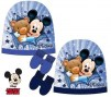 ensemble bonnet gants Mickey
